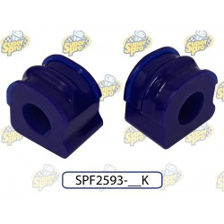 SuperPro Polyurethane Front Sway Bar Mount to Chassis Bush Kit Audi TT 2WD (Coupe) From Years: 1997 - 2004