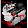 APR Silicone Boost Hose Kit - 2.0T - EA888 Gen 3