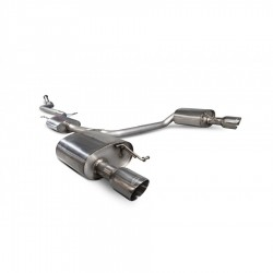 Resonated cat-back system A5 B8 2.0 TFSi 12-