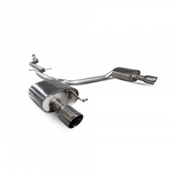Scorpion Non-resonated cat-back system A5 B8 2.0 TFSi 12-