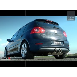 Milltek Exhaust for Volkswagen Golf MK5 GTI 2.0TFSI