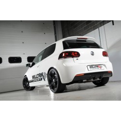 Milltek Cat-Back Exhaust For Mk6 Golf R 2.0TFSI (270PS)