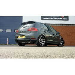 Milltek Particulate Filter-Back Exhaust For Mk6 Golf GTD 2.0TDI (170PS)