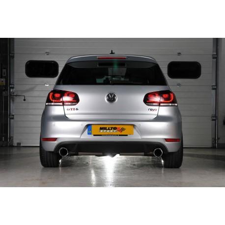 Milltek Cat-Back Exhaust For Mk6 Golf GTI 2.0TSI (210PS)