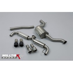Milltek 3.0inch Race Cat-Back Exhaust For Mk6 Golf GTI 2.0TSI (210PS)