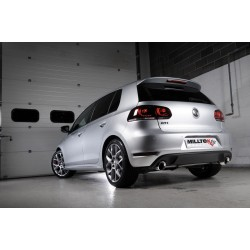 Milltek Cat-Back Exhaust For Mk6 Golf Edition 35 2.0TSI (235PS)