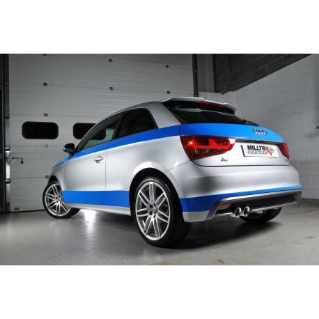Milltek Exhaust for Audi A1 S line 1.4 TFSI 122PS