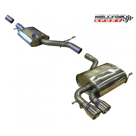 Milltek Exhaust for Audi A3 3.2 V6 quattro 3 door & 5 door Sportback