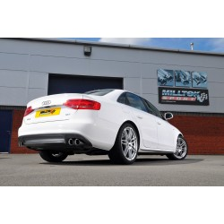 Milltek Exhaust for Audi A4 2.0 TFSI S line B8 (2WD and Quattro) Saloon & Avant