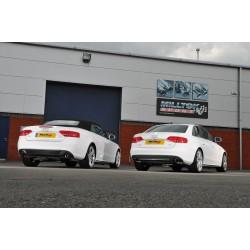Milltek Exhaust for Audi A4 3.0 TDi B8 Quattro Saloon and Avant