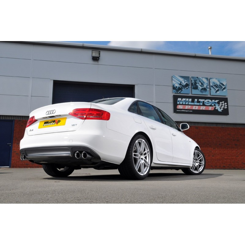 Milltek Exhaust For Audi A4 18 Tfsi S Line B8 160ps Manual Only