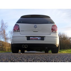 Milltek Cat-Back Options - Volkswagen Polo GTI 1.8T 20v