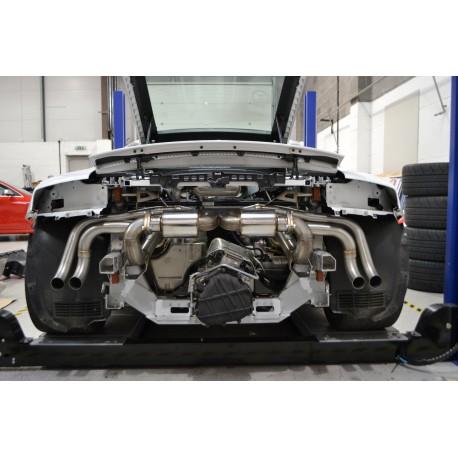 Milltek Audi R8 V10 5.2 FSI quattro Coupe and Spyder Cat-back