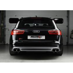 Milltek performance exhaust Audi S6 4.0TFSI Quattro