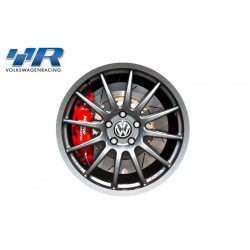 Racingline 8'' x 18'' Alloy Wheels - Satin Graphite Grey