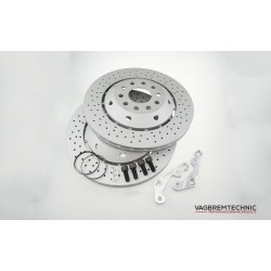 Rear 335x22mm RS6 Disc Upgrade Kit - TTS/TTRS Only (DI0006)