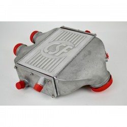 CSF RACE F8X M3/M4 - TOP MOUNT CHARGE-AIR-COOLER IN RAW FINISH