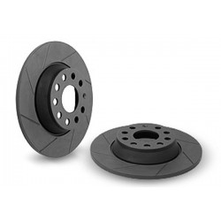 Neuspeed Slotted Discs - Rear Pair - 286 x 12mm