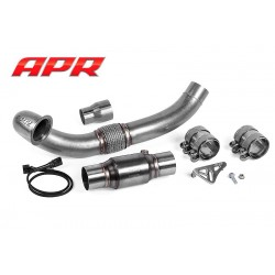 APR Cast Downpipe & Sports CAT - Golf Mk7 'R'