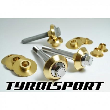 TyrolSport DeadSet Rigid Subframe Collar Kit for all MK2 Audi TT, MK5 & MK6 Golf